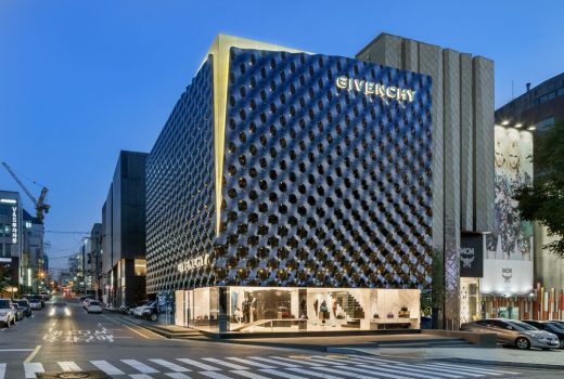 Givenchy Flagship Store Seoul Architecture News