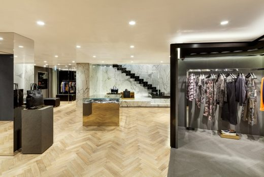 Givenchy Flagship Store Seoul interior