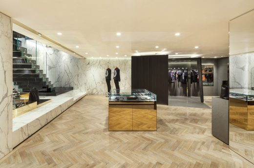 Givenchy Flagship Store Seoul retail interior
