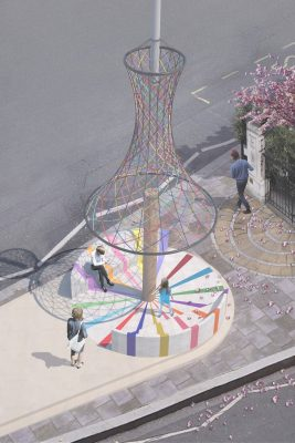LFA Modern Maypole Competition design by Interrobang