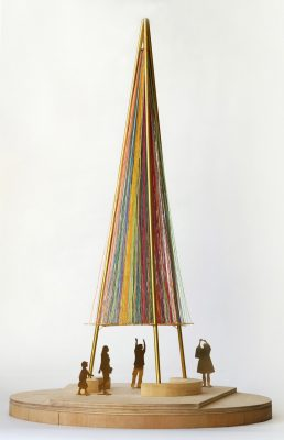 Modern Maypole Competition design by Thomas Randall Page