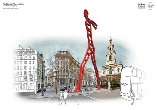 Modern Maypole Competition design by Hardman Structural Engineers and Studio Verve