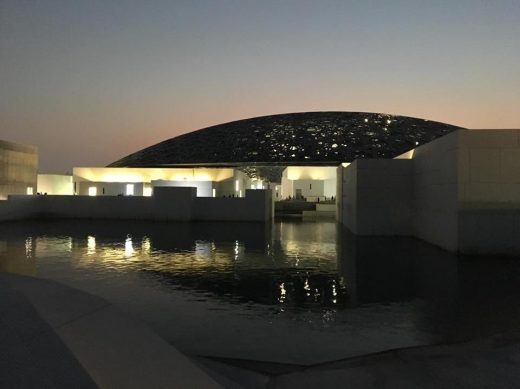 Louvre Museum Abu Dhabi Building by architect Jean Nouvel
