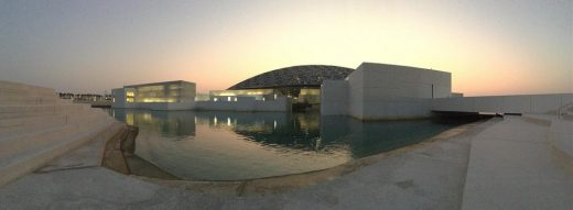 Louvre Museum Abu Dhabi Building by Jean Nouvel architect