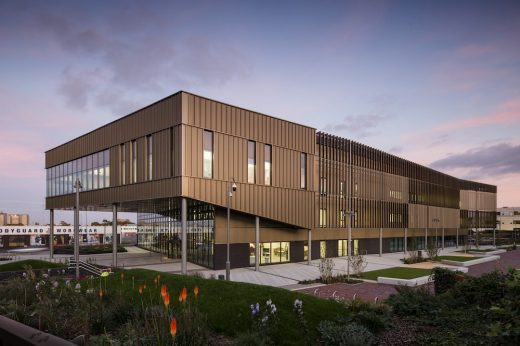National College for High Speed Rail Birmingham building design