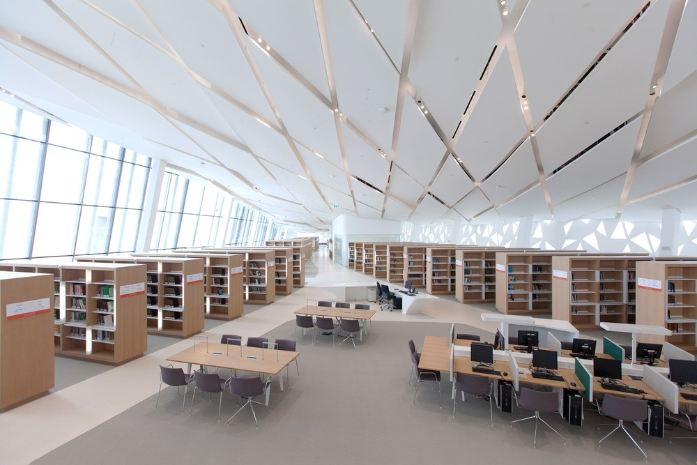 Qatar faculty of islamic studies in doha 18 e architect for Architectural design company in qatar
