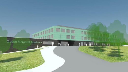 Queen Margaret Academy Ayr building design