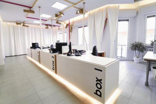 Réglette work space Cuneo Piemonte interior design