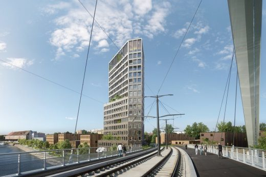 Residential Tower in Strasbourg