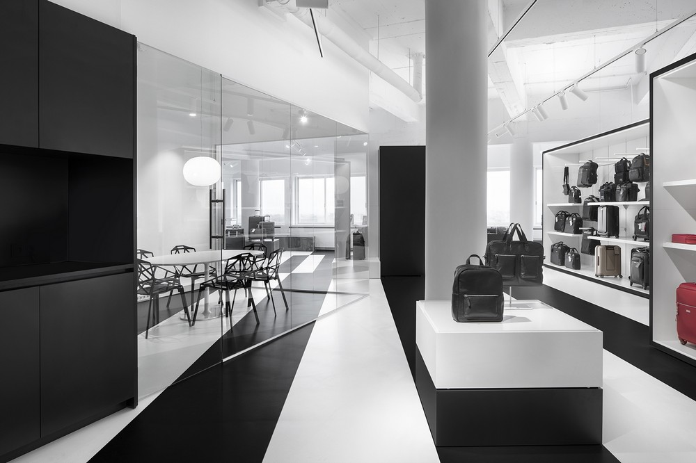 Samsonite showroom amsterdam 4 e architect for Product design jobs amsterdam