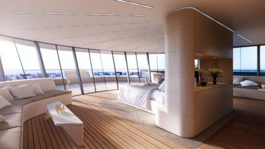 Se77antasette concept yacht for Benetti