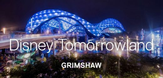 Shanghai Disney Resort Tomorrowland by Grimshaw