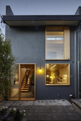 The Terrace House in Melbourne