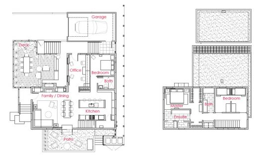 Todd Residence Seattle property plans