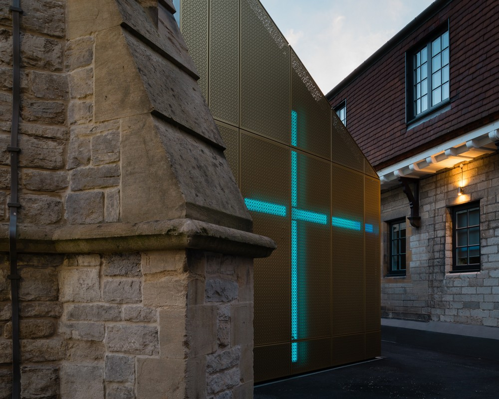 University of winchester winton chapel e architect for Winchester architects