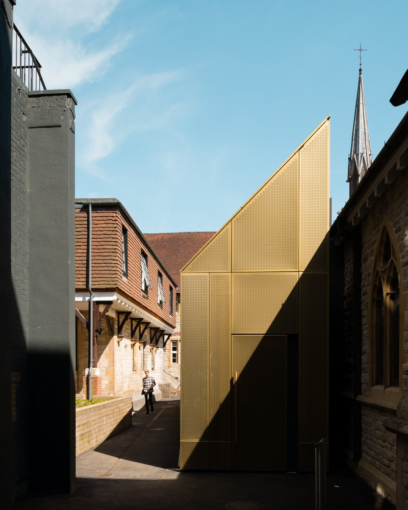 University of winchester winton chapel 4 e architect for Winchester architects
