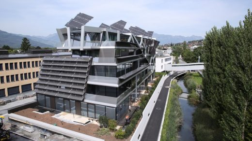 Active energy building in Vaduz Liechtenstein