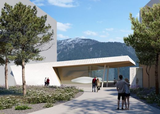 Andermatt Concert Hall building design