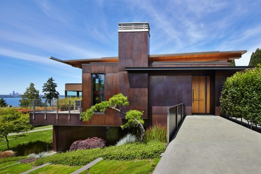 Brook Bay Residence, Mercer Island design by Olson Kundig Architects