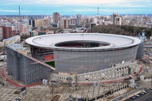 Central Stadium Yekaterinburg Russia 2018 World Cup venue