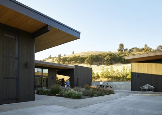 COR Cellars Winery Complex in Lyle, USA