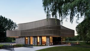 Discovery and Services Center in Iles de Boucherville Sepaq National Park