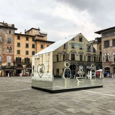 Domenico Raimondi Installation, Piazza San Michele, Lucca