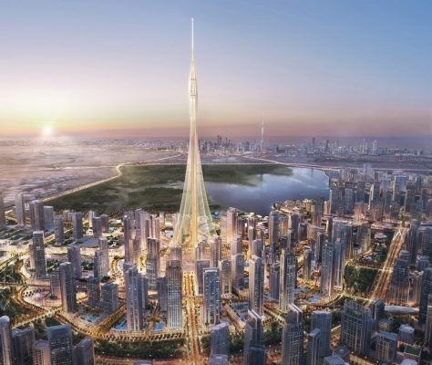 Dubai Creek Tower by Santiago Calatrava