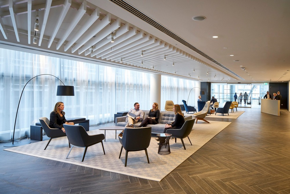 Landsec Headquarters Victoria Street Office Interior E Architect