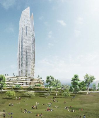 Operation Center tower Taichung building design