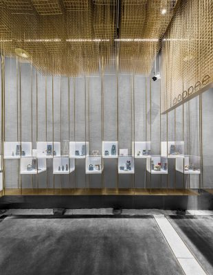 Poppee Designers Brands Collection Store design by Atelier Tree