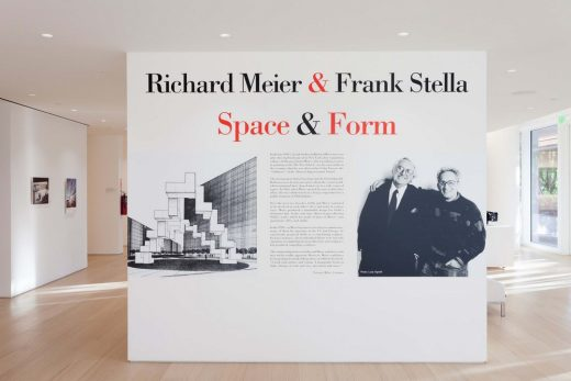 Richard Meier and Frank Stella Exhibition