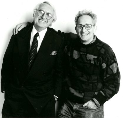 Richard Meier and Frank Stella