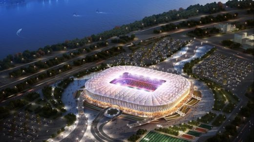 Rostov Arena World Cup 2018 stadium building