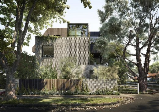 Ruskin Elwood House in Melbourne