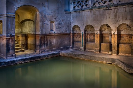 Sacred Spring in Roman Baths
