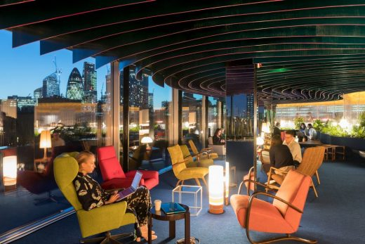 Second Home Spitalfields Rooftop Space