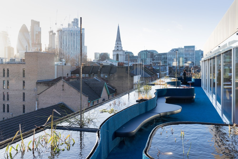 Second Home Spitalfields Rooftop Space 3 E Architect