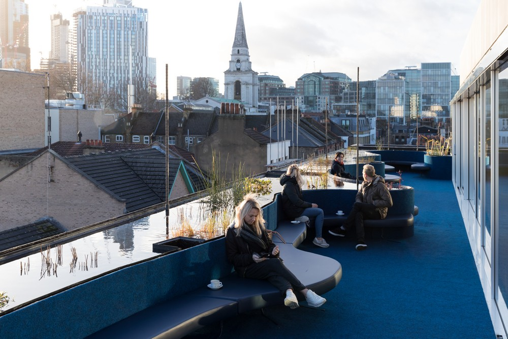Second Home Spitalfields Rooftop Space 4 E Architect