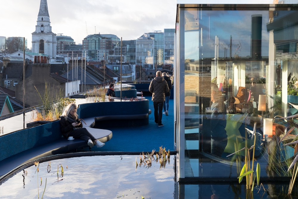 Second Home Spitalfields Rooftop Space 5 E Architect