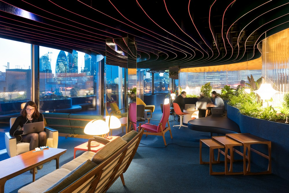Second Home Spitalfields Rooftop Space 9 E Architect