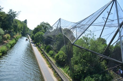 Snowdon Aviary London building structure