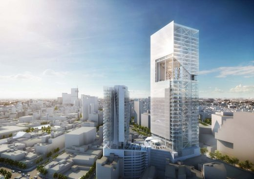 Torre Cuarzo Mexico City by Richard Meier & Partners