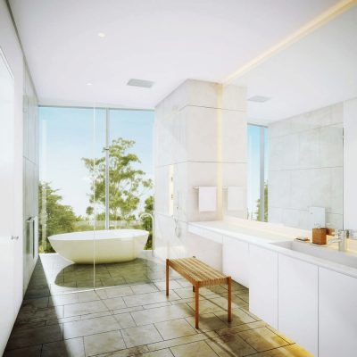 Vitrvm Development in Bogota bathroom design