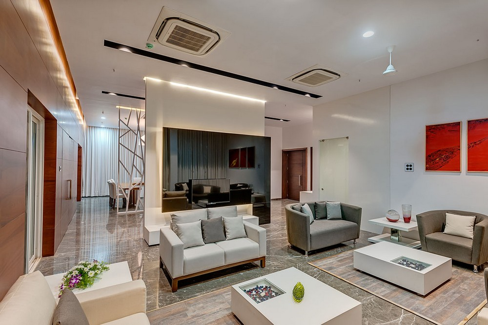Vvip circuit house pune building 4 e architect for Architecture design for home in pune