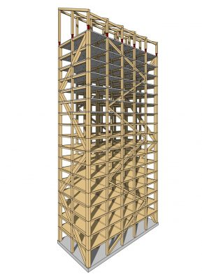 World's Tallest Timber Building