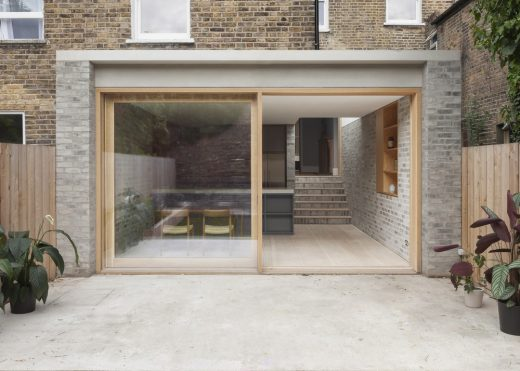 Bayston Road Property, Stoke Newington house extension