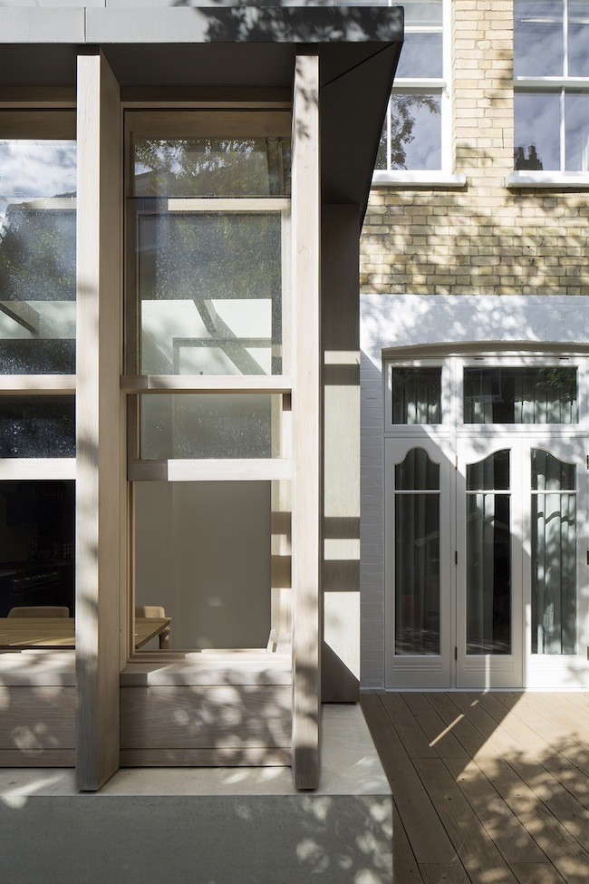 Belsize house in north london 2 e architect for Window design jobs london
