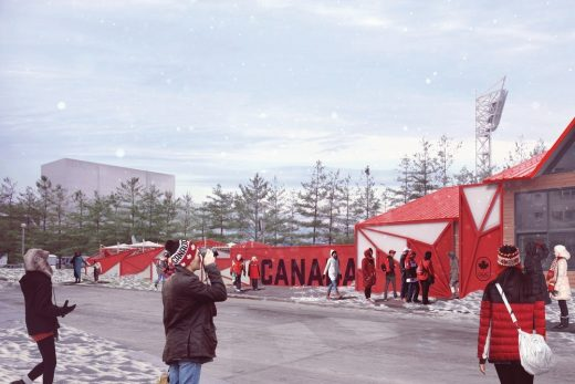 Canada Olympic House South Korea Architecture News