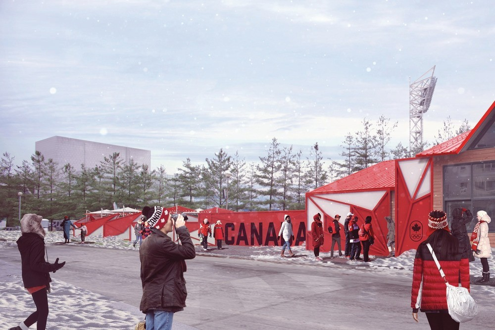 Canada olympic house in south korea e architect Canada house